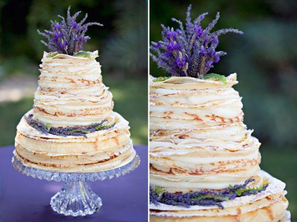 Crepe wedding cake!!!
