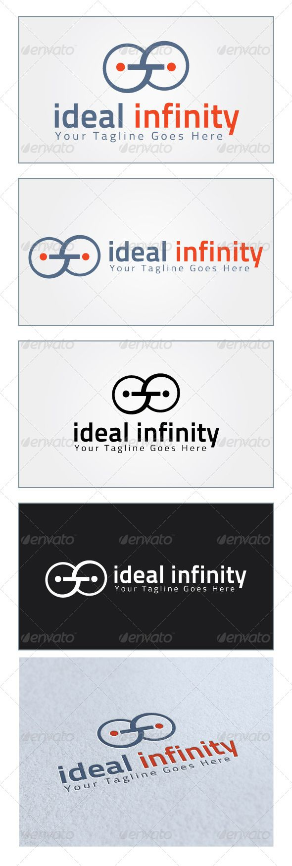 Ideal Infinity Logo Template GraphicRiver Re sizable