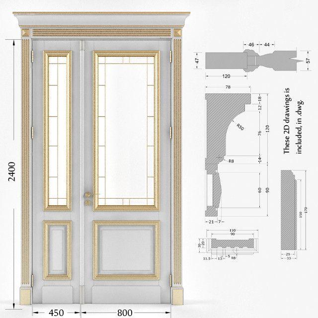 Door V Ray Classic Max Door Pinterest Doors And Window Simple Exterior Doors And Windows Model Plans
