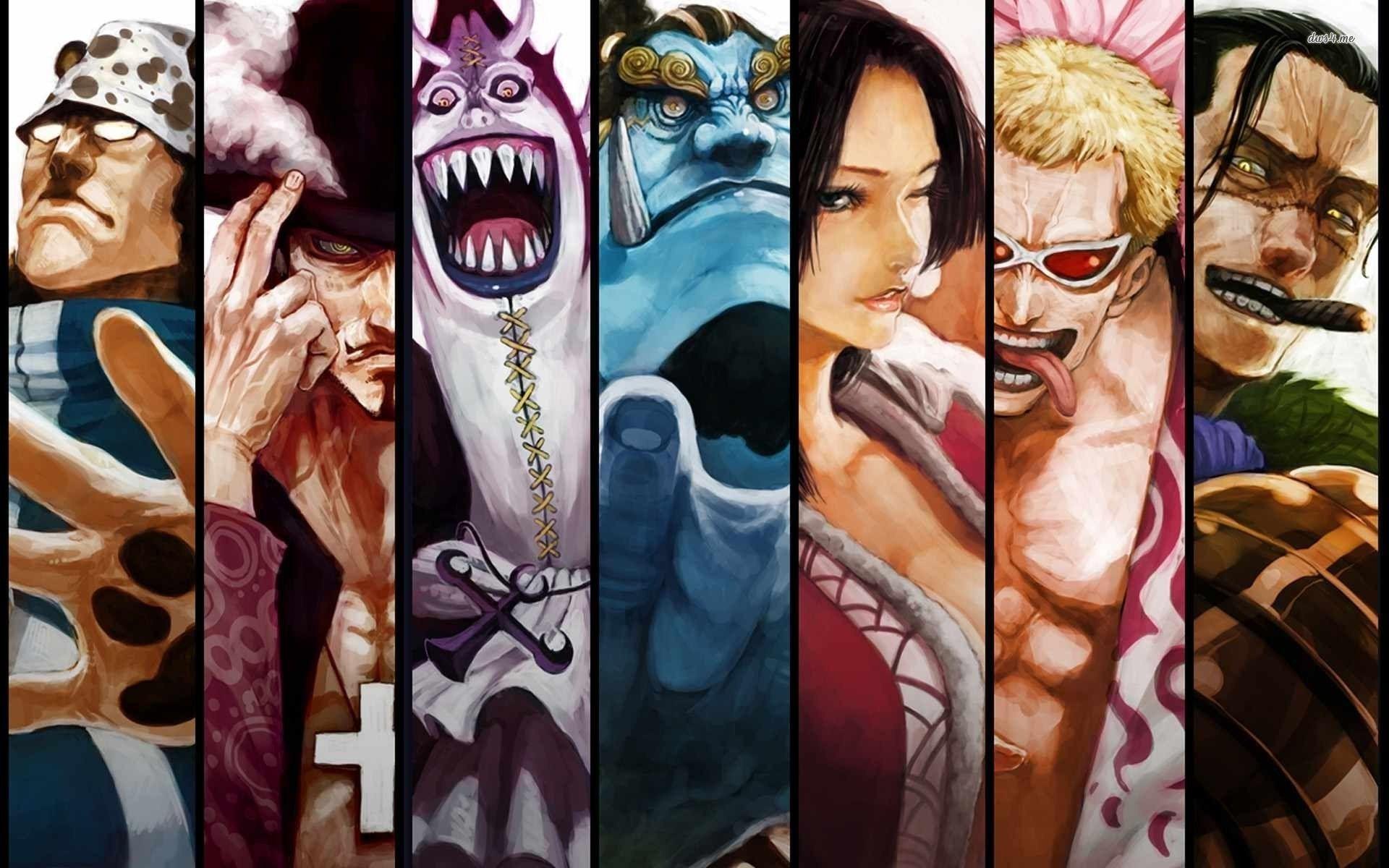 7 Shichibukai From One Piece Before Alabasta Arc One Piece Manga