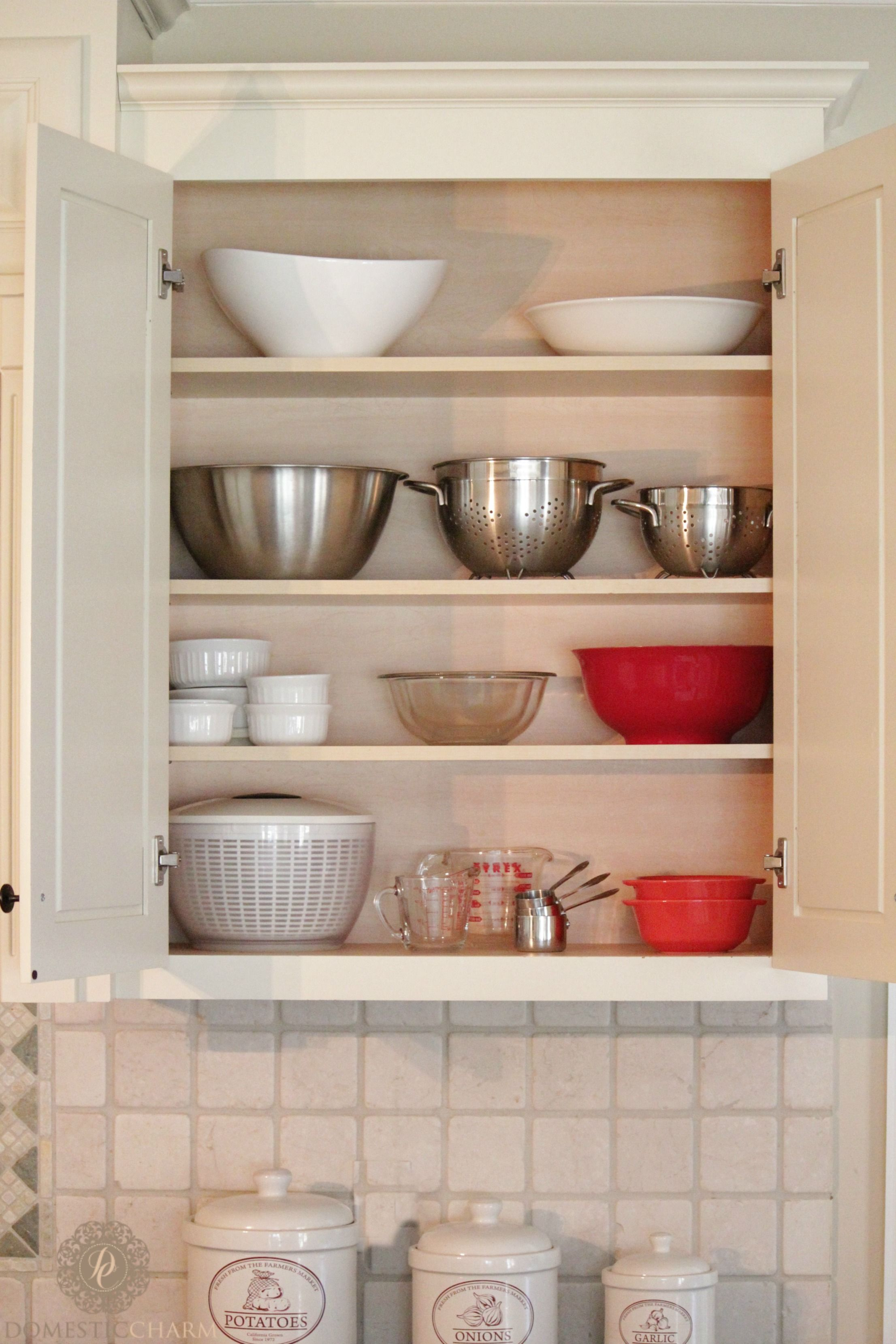 Keep Your Kitchen Cabinets In Tip Top Organizational Shape