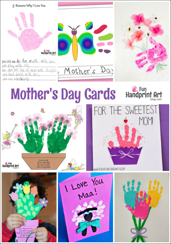Handmade mother 39 s day cards galore cards craft and school for Preschool mothers day cards
