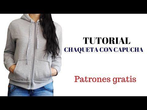 a2679b753361 Chaqueta con capucha para mujer   costura ropa,bolsos y algo mas ...