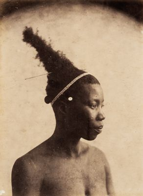 Africa A portrait of a Sangare woman. South Africa ca