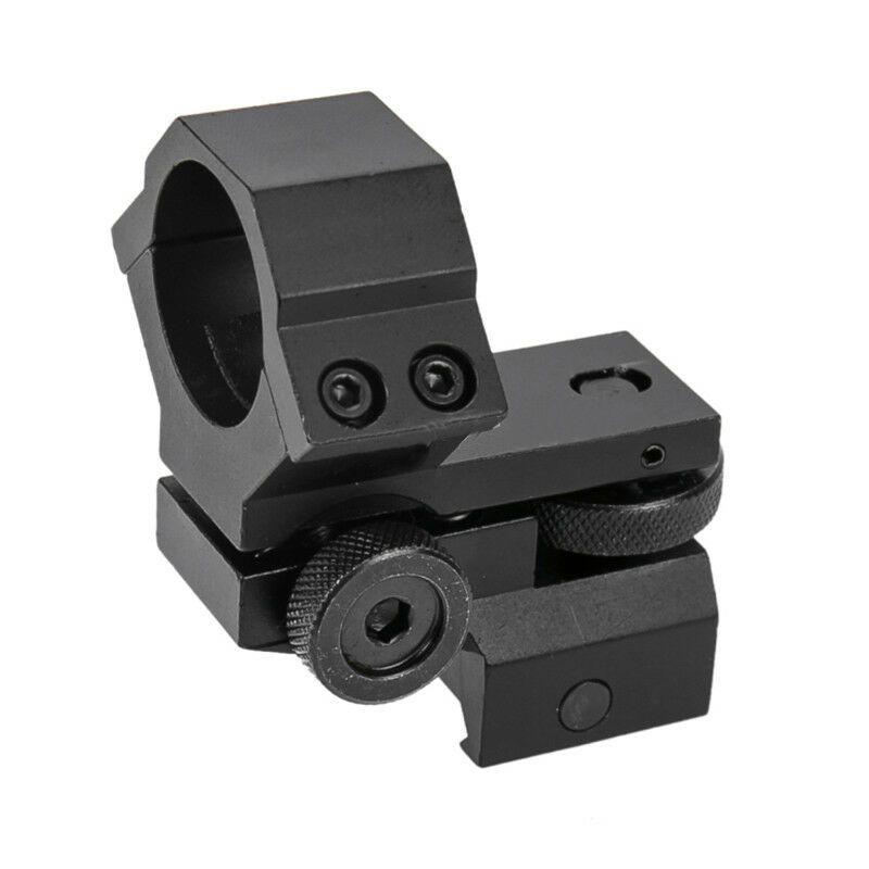 2Pcs Metal Picatinny Rail Barrel Mount Clamp Rail for Rifle Torch Laser Bipod
