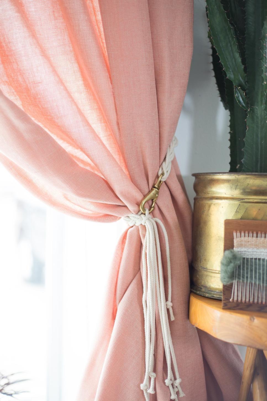 10 Diy Curtain Tieback Ideas That Don T Look Cheap Diy Diy