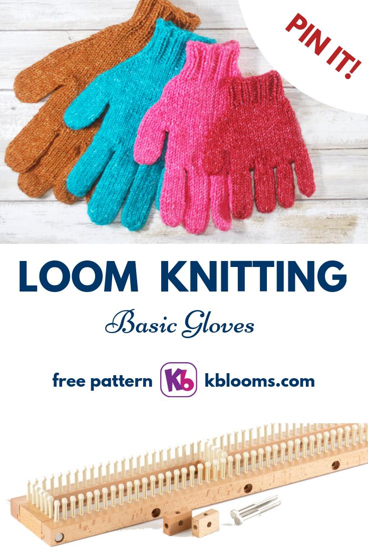 Basic Gloves (4 sizes) - KB Looms Blog