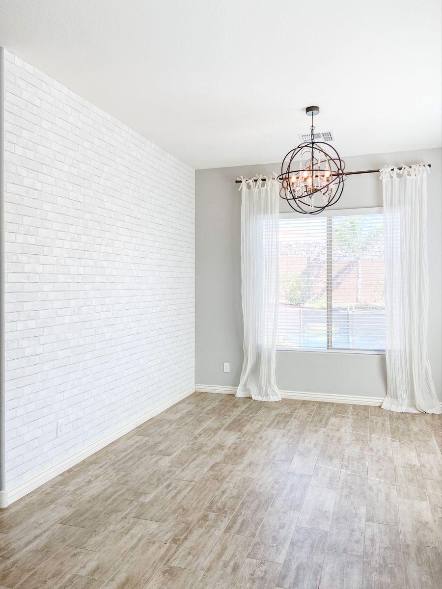 Peel Stick Textured White Brick Wallpaper Brick Wall Bedroom Brick Wallpaper Bedroom Brick Living Room