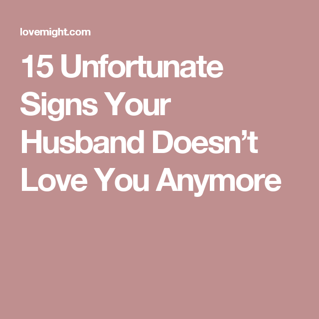 Signs your husband is in love with you