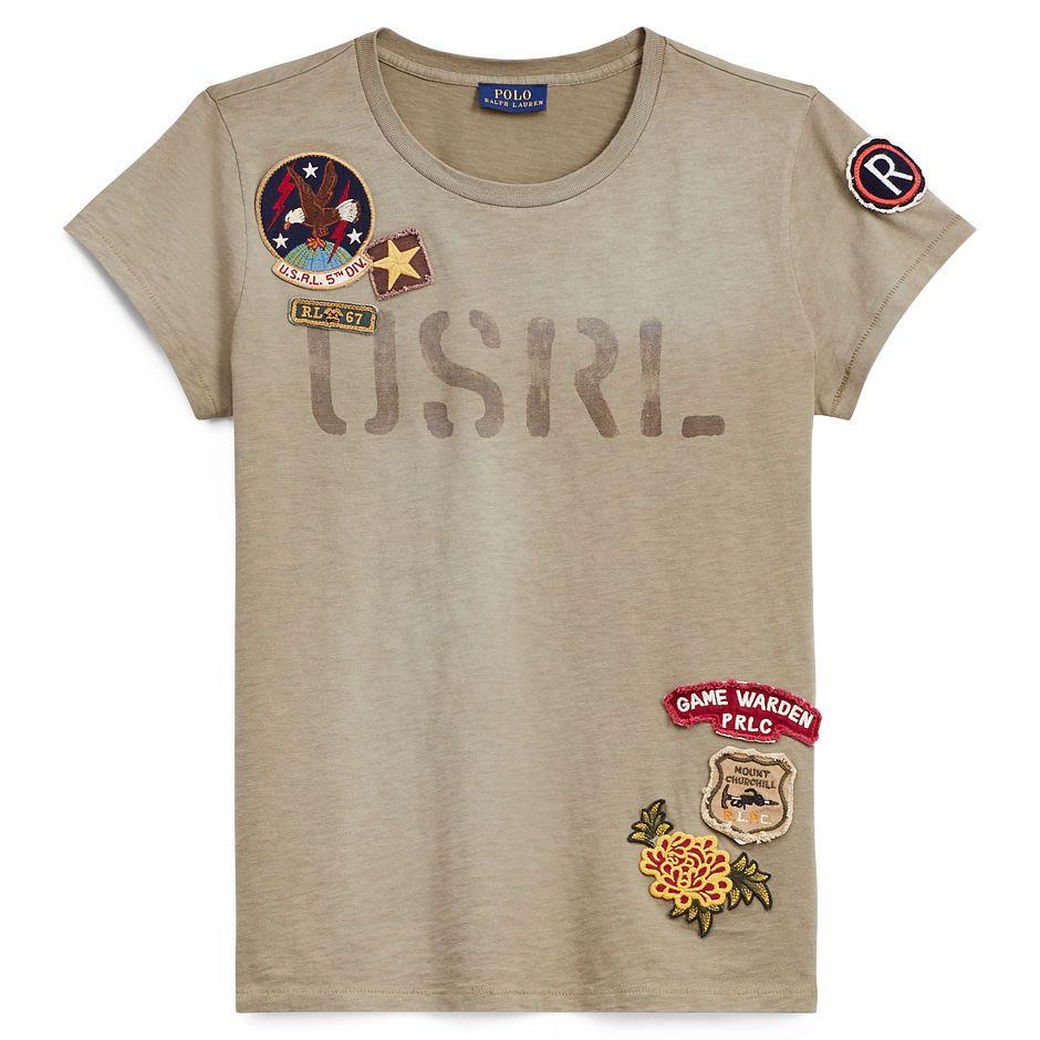 Usrl Cotton Jersey Tee Things I Love From Ralph Lauren Pinterest
