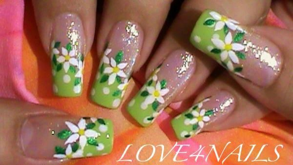 SUMMER FLOWER NAIL ART DESIGN by LOVE4NAILS - Nail Art Gallery  nailartgallery.nailsmag.com - SUMMER FLOWER NAIL ART DESIGN By LOVE4NAILS - Nail Art Gallery