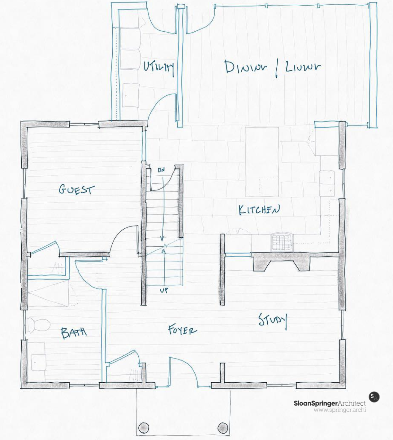 Home Additions Plan Drawings: Home Addition Plan Sketch