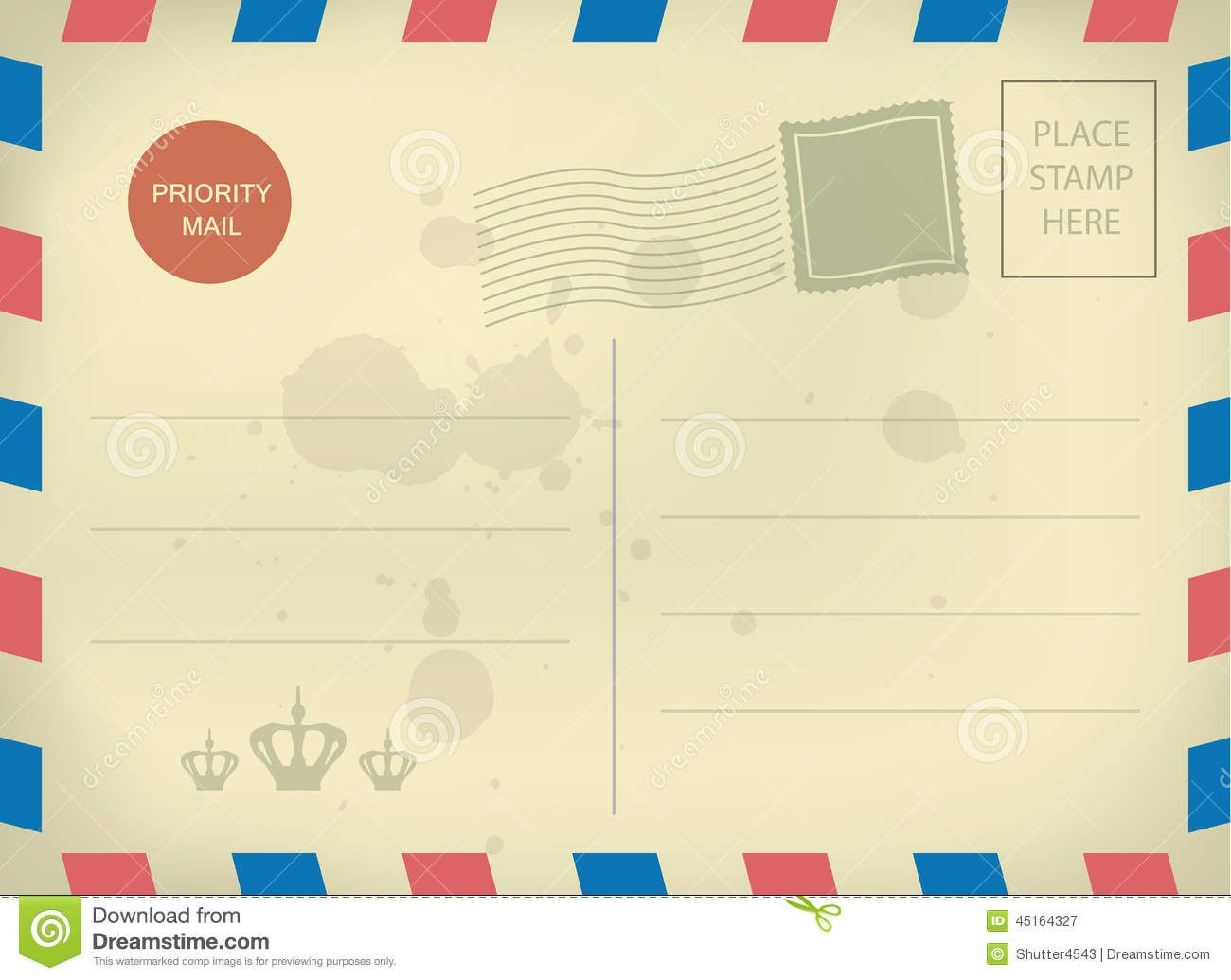 Free Postcard Template Download. Printable Postcard Template,Free ...