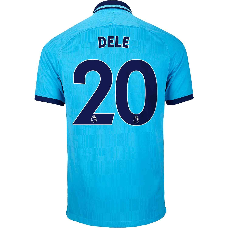 2019 20 Nike Dele Alli Tottenham 3rd Jersey Tottenham Jersey Mens Tshirts