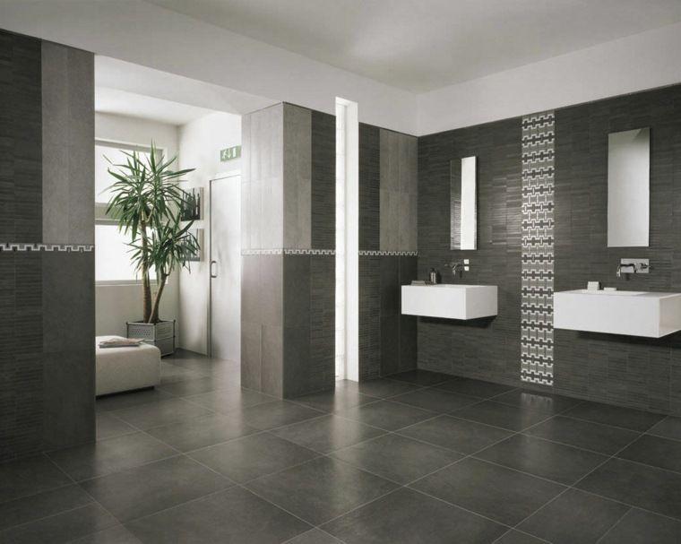 Salle de bain ardoise  naturelle et chic Jacuzzi - salle de bain ardoise