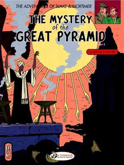 The Mystery Of The Great Pyramid Part 2 The Chamber Of Horus Mystery Pyramids Comic Book Covers