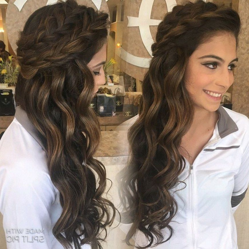 Wedding Hairstyles For Long Dark Brown Hair Female