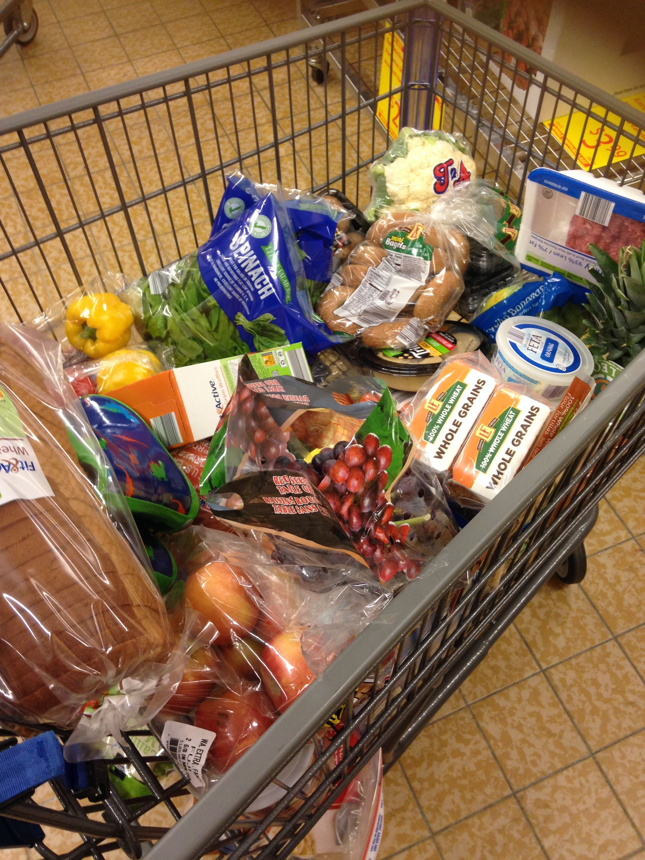 LOVE me some Aldi and ALONE TIME at the grocery store!!  TIPS FOR SAVING MONEY: *shop at Aldi! (don't forget your quarter for your cart!) *avoid inner aisles of the grocery store unless it's for necessities(spices, oats, etc) *fruits/veggies on sale??? stock up and freeze some for smoothies! (smoothies are a fun, easy way to get your fruits/veggies in!!)   (follow me on facebook: Staci Carroll- Inspiration & Fitness)