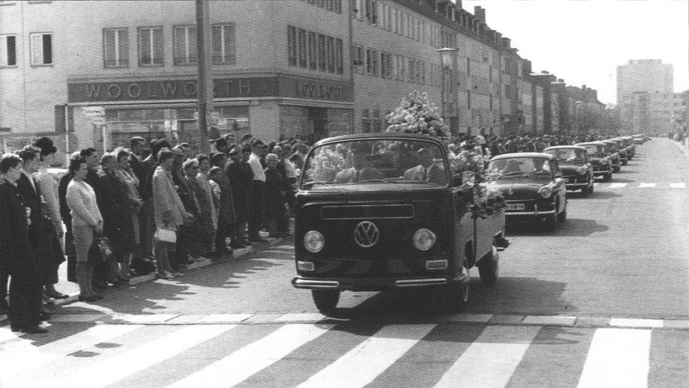 Carabana del funeral Heinrich Nordhoff 1969
