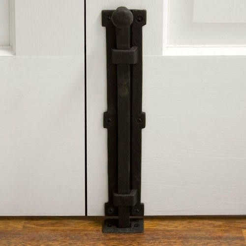 8 Iron Surface Bolt Lock For French Doors Back French
