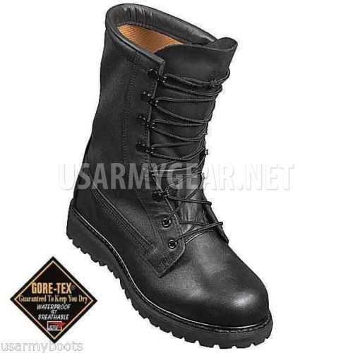 Made in USA Black Bates or Belleville Cold Weather ICW Military Combat  Goretex GI Boots  86eee8f568