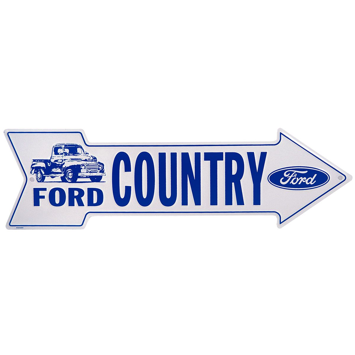 Ford f 150 country arrow metal sign d garage shop reno for D sign shop