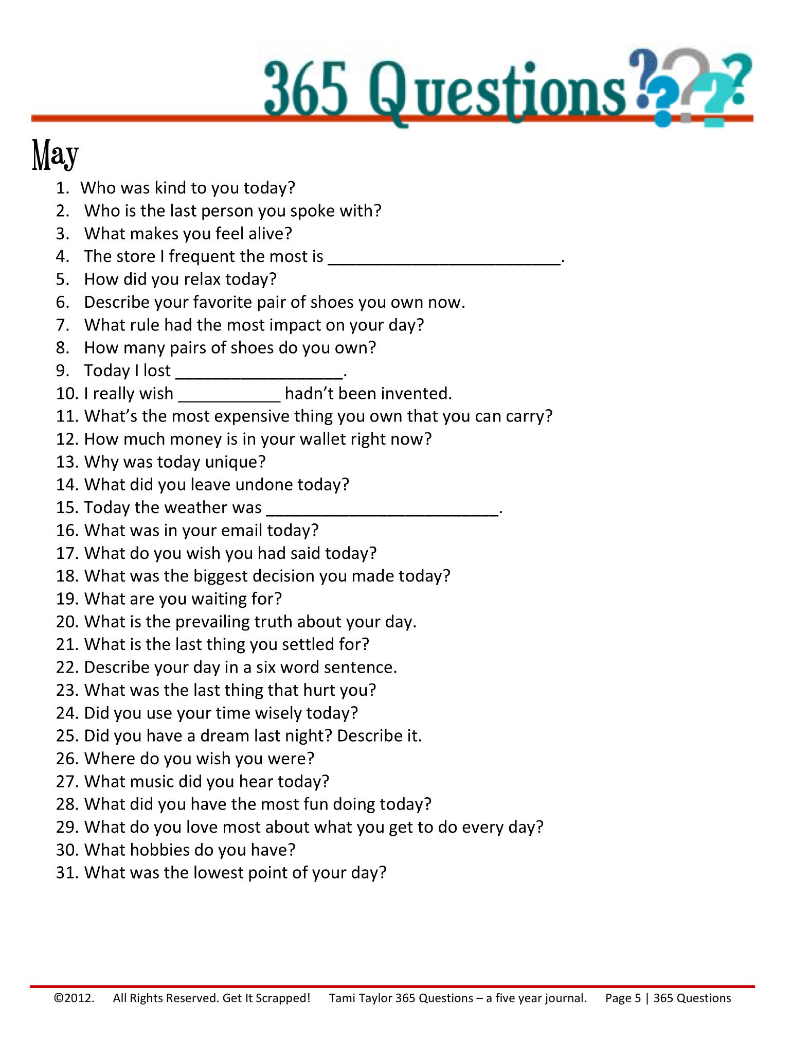 365 fragen zum kennenlernen
