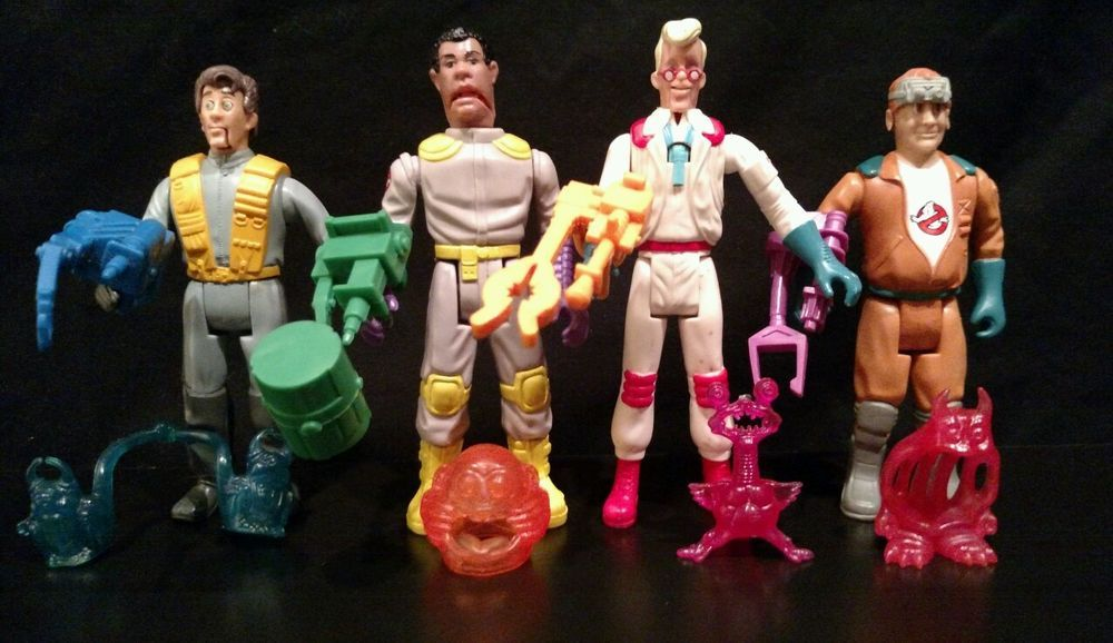The Real Ghost Busters Kenner Fright Features RAY complet