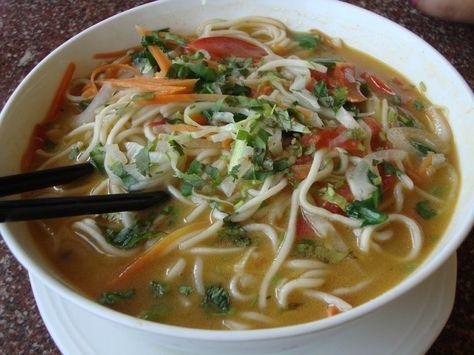 Chicken Thukpa Recipe | Chicken Noodle Soup | HungryForever | Recipe |  Recipes, Chicken recipes, Food