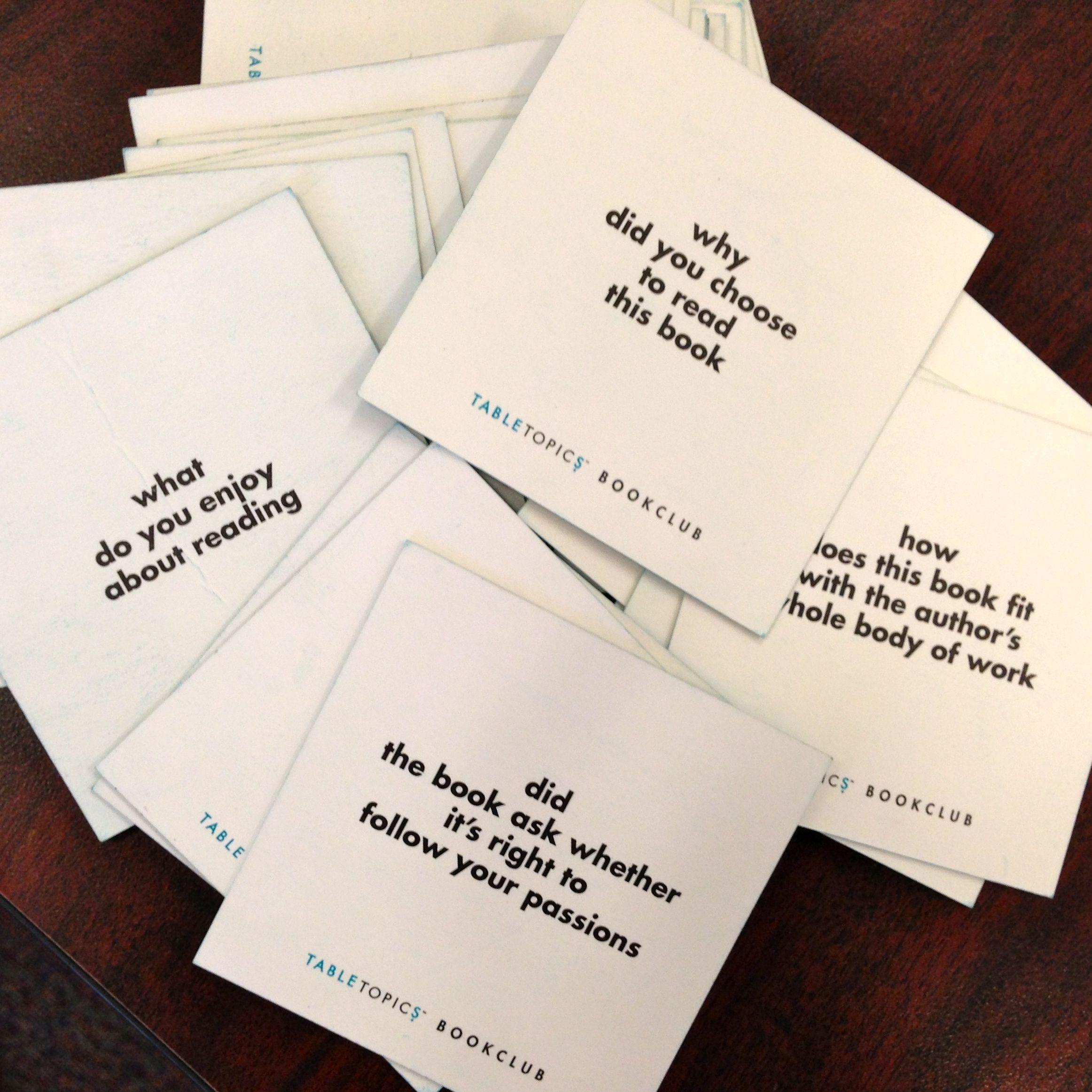 Strange Tip For Sparking Conversation On Reading Table Topic Cards Home Interior And Landscaping Mentranervesignezvosmurscom