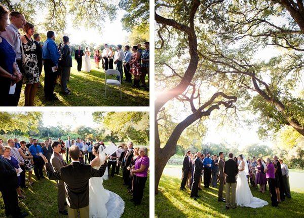 An Austin TX Autumn Backyard Wedding From Offbeat Bride