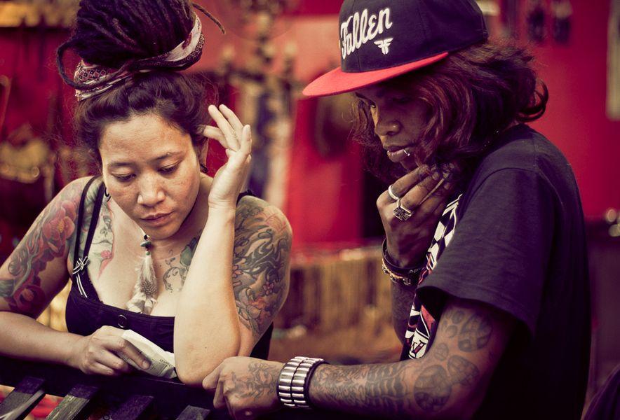 #Thailand #tattoo #bamboo