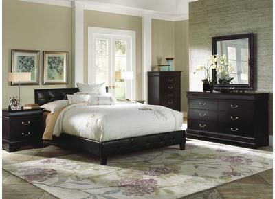 Cool Headboard Idk Why I Like All Black Everything From