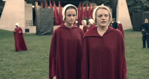 """The Handmaid's Tale Season 2 Will Be Absolutely """"Gut-Wrenching"""" According To Star Elisabeth Moss"""
