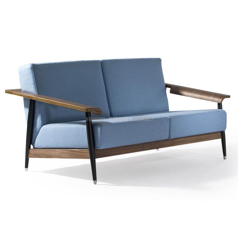 Dowel Loveseat Love Seat Seater Sofa Comfortable Seating