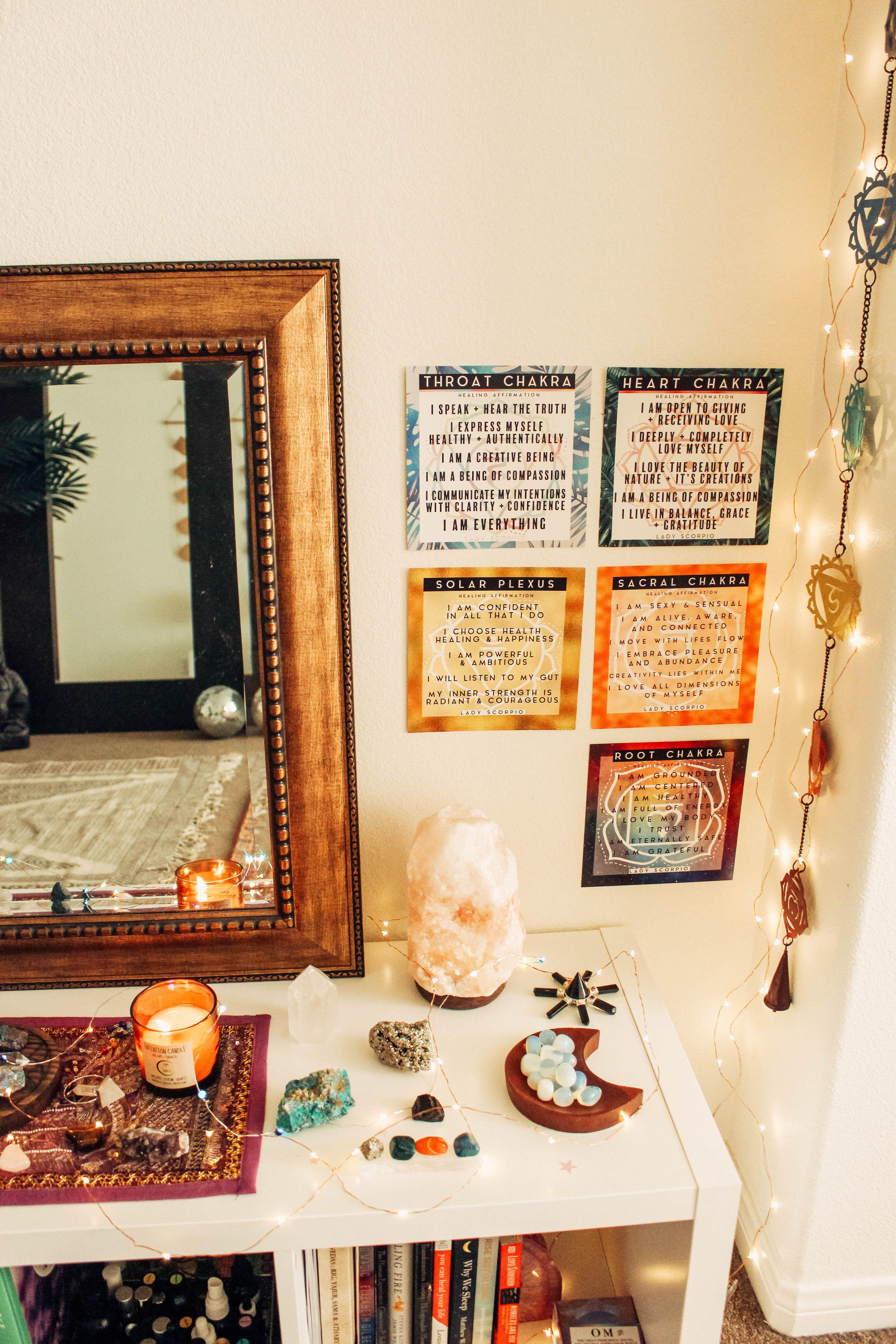 Chakra Box In 2019 Home Spiritual Decor Home Decor Loft