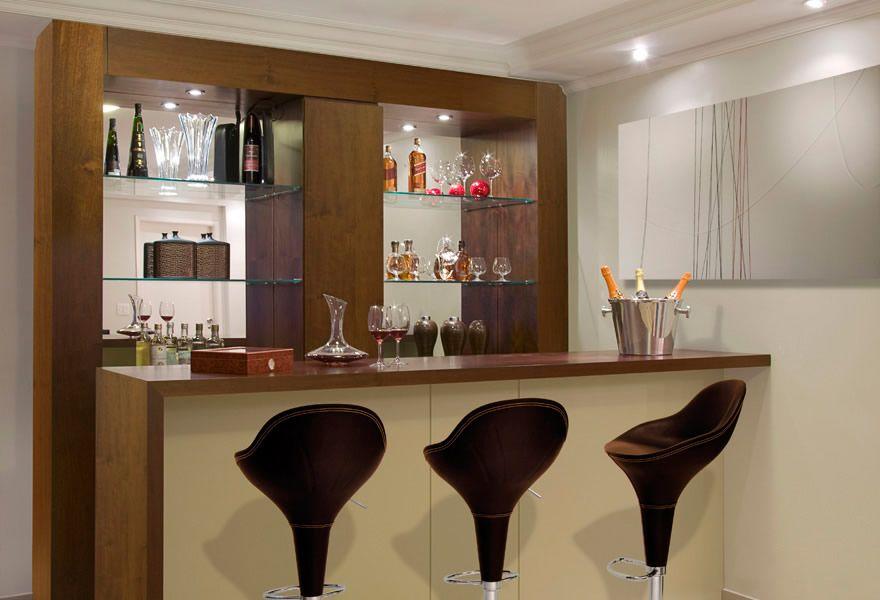 Sala Pequena Com Barzinho Moderno ~ barzinho para sala de estar decoração  Pesquisa Google  Casa