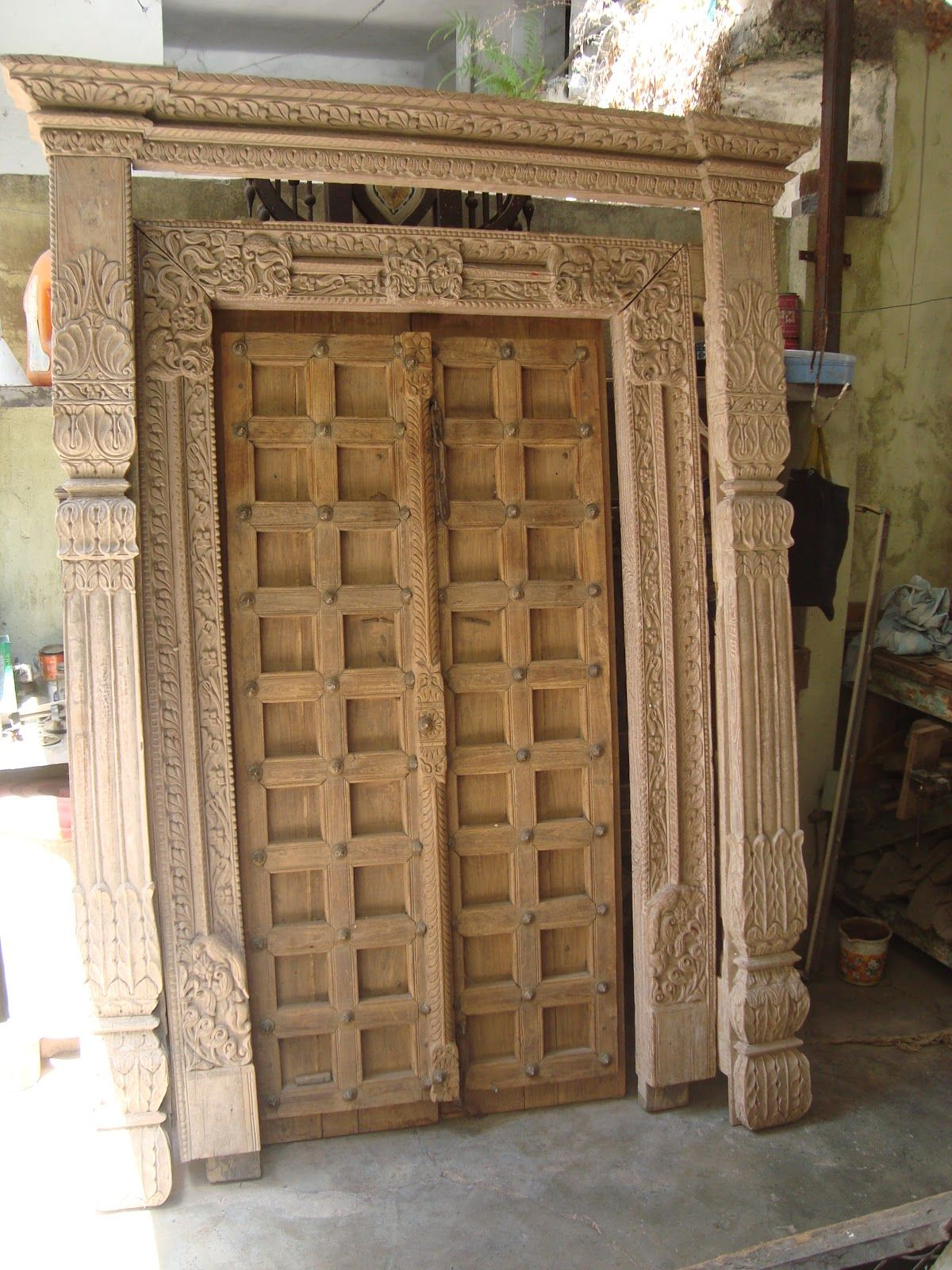 antique door for sale aroun 150 years ancient doors with carving ...