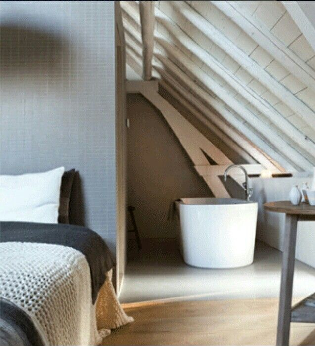 Inspiration déco Bedrooms, Attic and Interiors