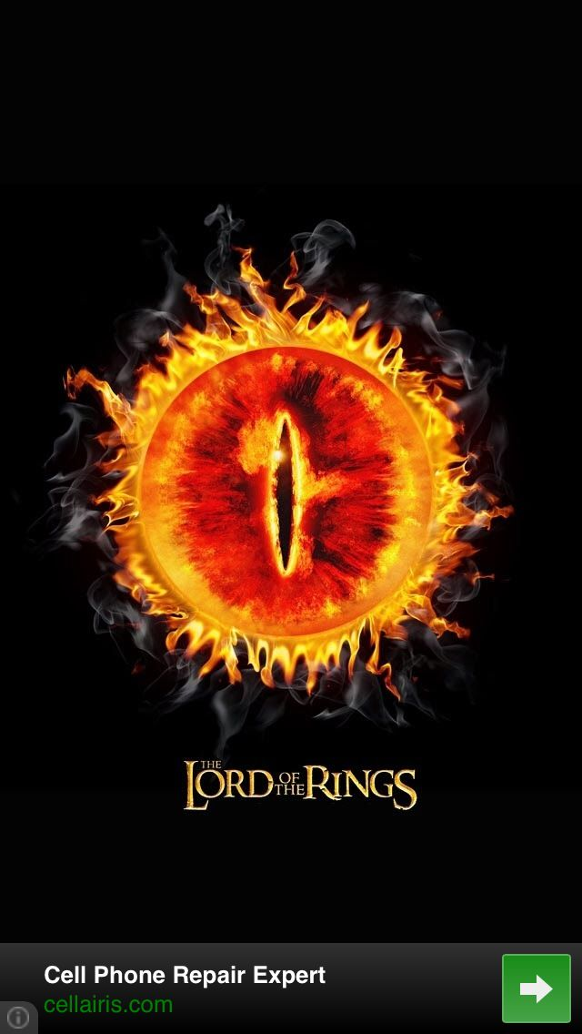 The Eye Of Sauron Hobbit Lotr Pinterest Retina Wallpaper Lord