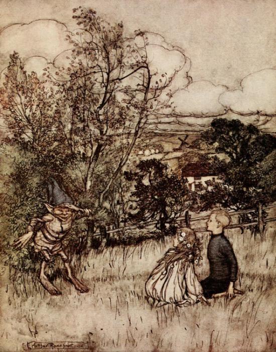 Arthur Rackham Puck of Pook's Hill 1906