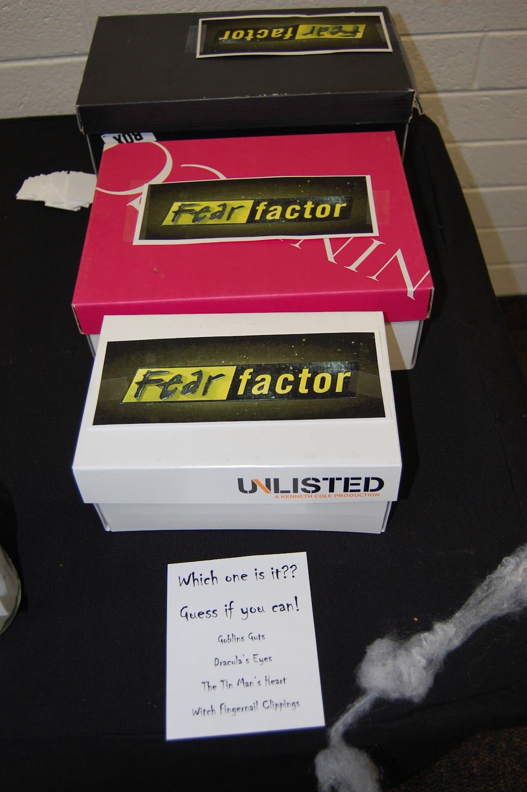 Fear Factor Halloween Party Games in 2020 Halloween