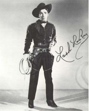 """Alfred """"Lash"""" LaRue (June 15, 1917 –May 21, 1996) was a popular western motion picture star of the 1940s and 1950s. He had exceptional skill with the Bull whip and taught Harrison Ford how to use the bullwhip in the Indiana Jones movies."""