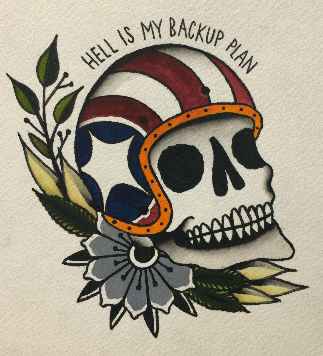 Traditional Flash Skull Tattoos: Pinterest