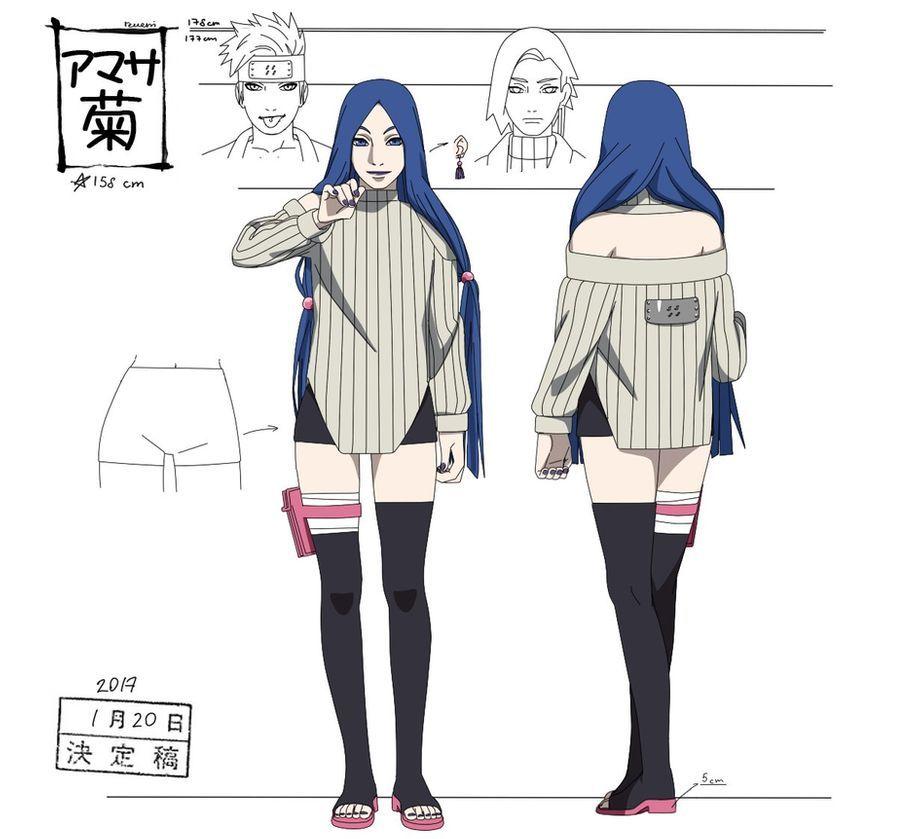 Amasa Kiku By Reveni On Deviantart In 2020 Naruto Clothing Naruto Oc Naruto