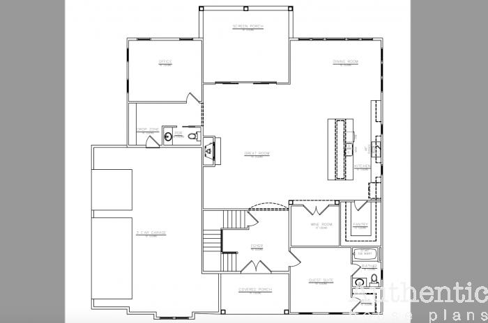 Seneca House Plan House Plans How To Plan House