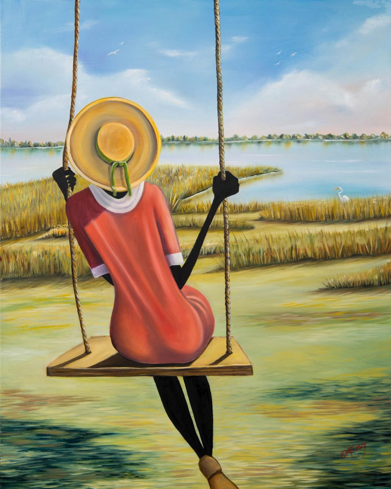 "Waiting Push Elginia Mccrary ""swangin"" Art Wall Prints And"