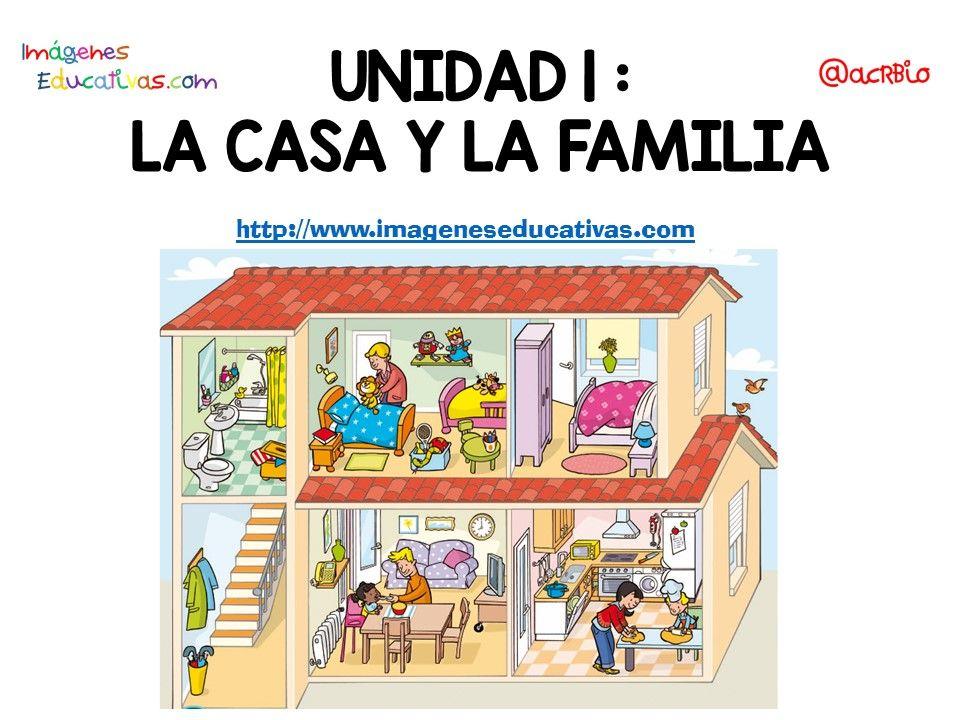 Vocabulario Temático centro de interés casa y familia, listo para ...