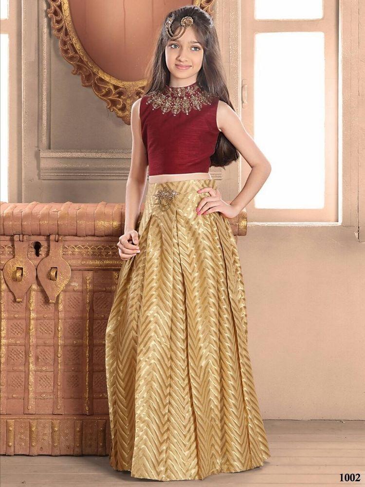 Lehenga Indian Ethnic Bridal Traditional Choli Bollywood