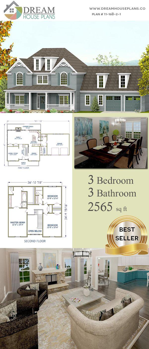 3 Bedroom 3 Bathroom 2565 Sq Ft 11 16b 2 1 House